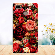 Soft Tpu Phone Case For Fly Power Plus 1 FS521 Cases Silicone Painted Wolf Rose Cat Fundas Sheer For Fly Fs521 Plus 1 Back Cover