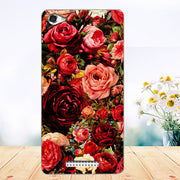 Soft Tpu Phone Case For Highscreen Power Ice Evo Cases Silicone Painted Wolf Rose Fundas Sheer For Highscreen Power Ice Evo