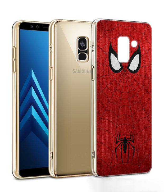 Spider Man Phone Case For Samsung Galaxy J2 J3 J4 Plus J5 J6 Plus J7 J8 2018 Soft Silicone Cases Cover