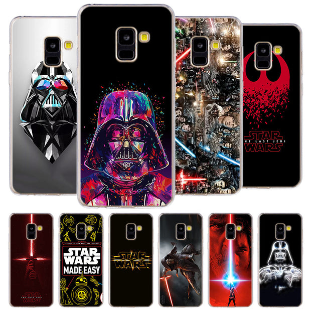 Star Wars Phone Case For Samsung Galaxy J2 J3 J4 Plus J5 J6 Plus J7 J8 2018 Soft Silicone Cases Cover