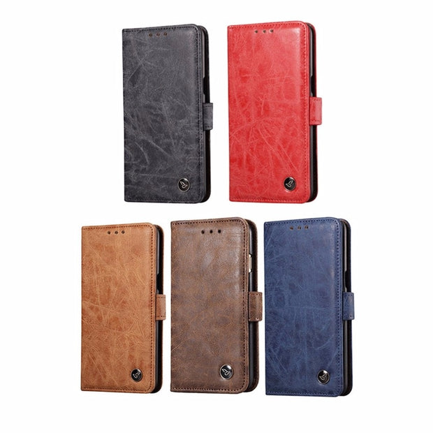 Stylish Phone Case PU Leather Flip With Stand Photo Card & Back Cover & Wallet Luxury Phone Cover Bags For Oneplus 5
