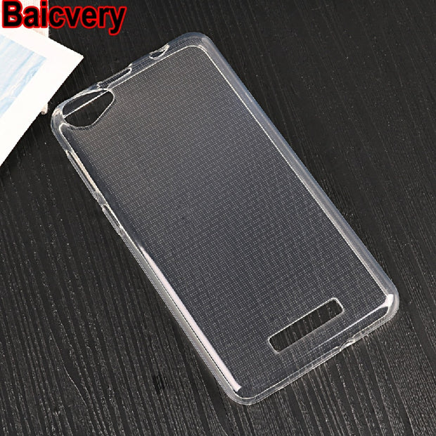 Super Thin Case Soft Silicone TPU Case For Micromax Spark 2 Q334 New Back Cover Case For Micromax Q334