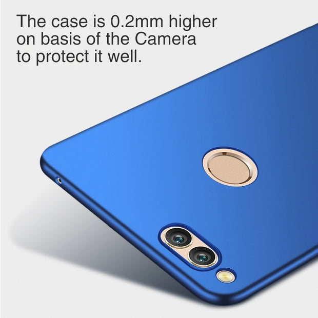 TAOYUNXI Case For Huawei Honor 7X Case Fitted For Coque Huawei P9 Lite Cover Black VNS-L21 VNS-L22 Etui Honor7X Plain Phone Hood