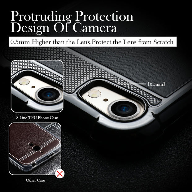 TAOYUNXI Cases For Honor 9 Lite Case Silicone Cover For Huawei Honor 9 Lite Case Shockproof Back For Cover Honor 9 Youth Edition