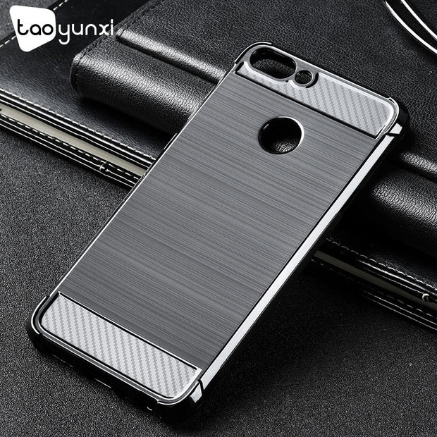 TAOYUNXI Cases For Huawei P Smart Case Silicon Covers Enjoy 7S Case Shockproof For Back Cover Huawei Enjoy7S Housings Capa Coque
