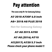 TAOYUNXI Cases For Samsung Galaxy A7 2018 Case Silicone Cover For Samsung A8 Plus 2018 Cases For Back Covers A8+ 2018 Cases Capa