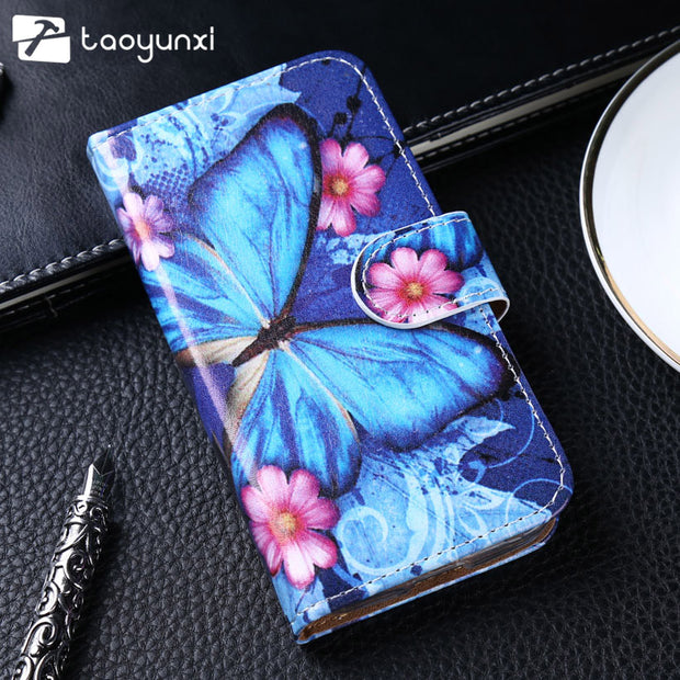 TAOYUNXI For Case Doogee X30 Case Flip Leather Patterned Case For Doogee X30 Cover Wallet Card Slot Shell Kickstand X30 Pro X30L