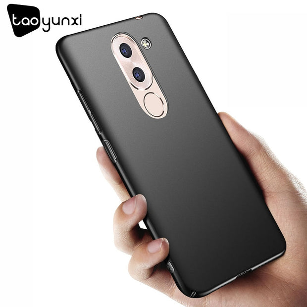 TAOYUNXI For Huawei Honor 6x Case Slim For Huawei GR5 2017 Fitted BLN-AL10 Etui For Huawei Y6 II Cover Coque Honor 8 Plain Cover