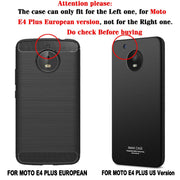 TAOYUNXI For Motorola Moto E4 Plus Case XT1770 XT1773 Moto E4 Plus Cover European Version SLine Silicon Fitted Funda Bag 5.5inch