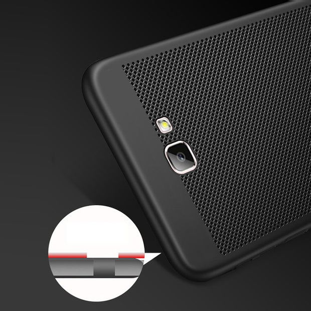 TAOYUNXI Matte Rubber Cover Case For Samsung Galaxy J7 Prime G610F G610F/DS G610F G610M G6100 On7 2016 Case Hard Plastic Cover