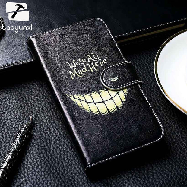 TAOYUNXI PU Leather Case For ASUS Zenfone 3 Zoom ZE553KL Z01HDA Asus ZenFone Zoom S Phone Cover Back Housing DIY Painted Shell