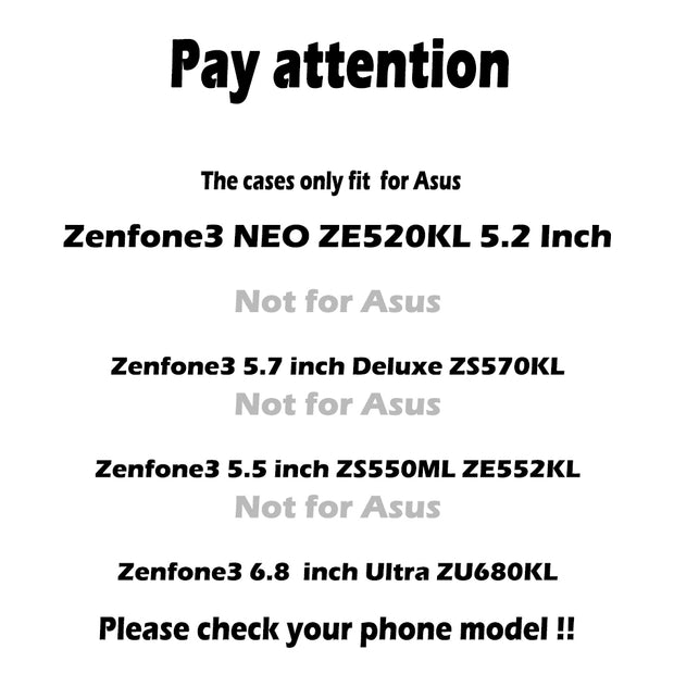 TAOYUNXI PU Leather Case For Asus Zenfone 3 ZE520KL Asus Zenfone 3 NEO ZE520KL Z017DA Zenfone 3 Lite Zenfone3 Neo Cover Holster