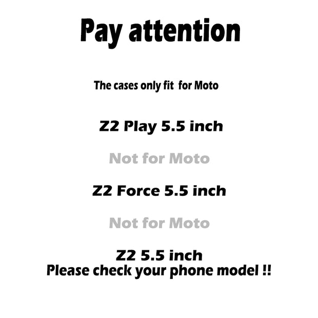 TAOYUNXI Phone Cover Case For Motorola Moto Z2 Play XT1710-01 XT1710-07 XT1710-10 XT1710-08 Case S Line Brush TPU Cover