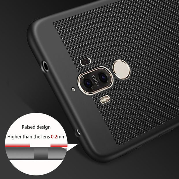 TAOYUNXI Rubber Cover Case For Huawei Mate 9 P10 P10 Plus Y6 II MHA-L29 MHA-L09 CAM-L21 Honor5A Play Case Cover PC Rubber
