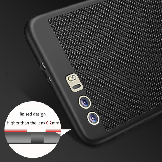 TAOYUNXI Rubber Phone Cases For Huawei Honor 9 Case STF-L09 Cover STF-AL00 5.15 Inch Oil-Coated Hard Plastic Covers Housing Bags