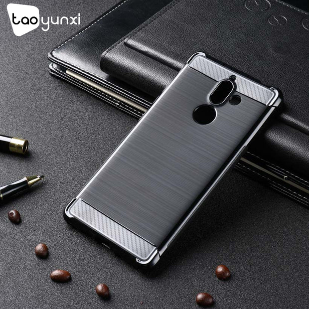 TAOYUNXI Silicone Cases For Nokia 7 Plus Case Shockproof Covers For Case Nokia 7 Plus Back Covers Housings Shell Capa Coque Hood