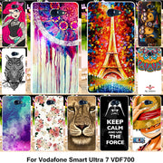 TAOYUNXI Silicone Phone Cover Case For Vodafone Smart Ultra 7 VDF700 VF700 5.5 Inch Case Soft TPU Cover Housing Shell Phone Bag