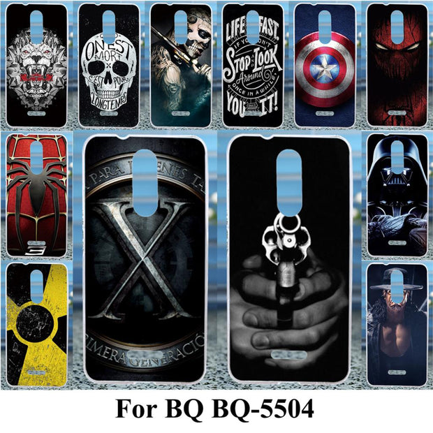 TAOYUNXI Soft TPU Cases For BQ BQ-5504 Strike Selfie Max Case For BQS 5504 Cases For BQ BQ-5504 Strike Selfie Max Case Silicone