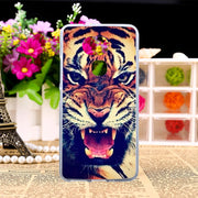 TAOYUNXI TPU Case For BQ Aquaris V 5.2 Inch Painting Pattern Silicone Cases Coque Shell Cover For BQ AquarisV Housing Hood Funda