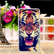 TAOYUNXI TPU Case For Doogee Homtom HT26 4.5 Inch Painting Pattern Silicone Cases Coque Shells Cover For Homtom HT26 Housings