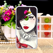 TAOYUNXI TPU Case For Vodafone Smart N8 VFD610 5.0 Inch Painting Pattern Silicone Cases Coque Shells Cover Housings Hoods Bags