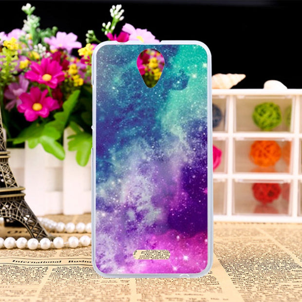 TAOYUNXI TPU Case For Wiko Harry 5.0 Inch Painting Pattern Silicone Cases Coque Shells Cover For Wiko Harry Housings Hoods Bags