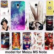 TAOYUNXI TPU Silicone Phone Cover Case For Meizu M5 Note Meilan Note 5 Case Gel Phone Bag Shell Capa Bumper M5 Note Housing