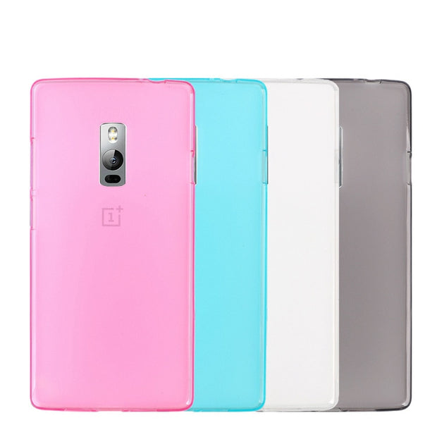 TPU Case Soft Back Case For Oneplus 2 Silicone New Case Cover For One Plus Two High Quality