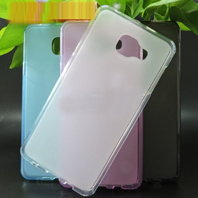 TPU Case Soft Back Case For Samsung Galaxy C5 C5000 Silicon TPU New Cover For Samsung Galaxy C5 C5000