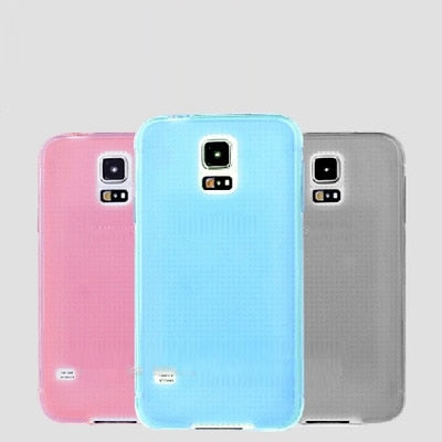TPU Case Soft Back Case For Samsung Galaxy S5 Mini G800 Silicon New Case For Samsung Galaxy S5 Mini G800 High Quality