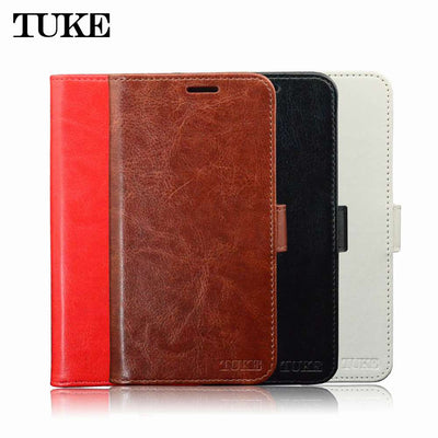 "TUKE For Xiaomi Mi Mix 2 Case Cover 5.99"" Wallet PU Leather Case For Xiaomi Mi Mix2 Coque Flip Cover Phone Cases Stand Card Slot"