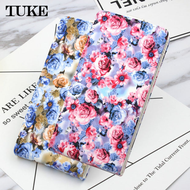TUKE Funda For Alcatel IDol 5 Case Capa Flip Leather Back Cover Case For Alcatel IDol5 6058 6058D Wallet Phone Coque