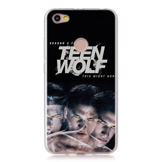 Teen Wolf Stilinski 24 McCALL 11 Silicone Back Case Cover For Xiaomi