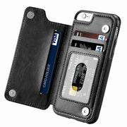 Tendway Wallet Phone Case For Iphone 7/X/8/XS Cover Flip Leather Case Card Holder Funda For Iphone Accessories