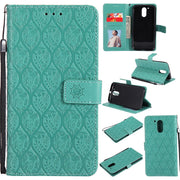 TopArmor For MOTO G2 G4 G5 G4 PALY G5 PLUS Cases 3D Rattan Flower Embossed Wallet Case Flip PU Leather Cover For MOTO X STLY