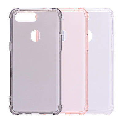Transparent Shockproof Simple New Style Case For OPPO R11s Plus Fashion Plain TPU Back Cover Case For OPPO F7 A83 A1 F5 A75s A73