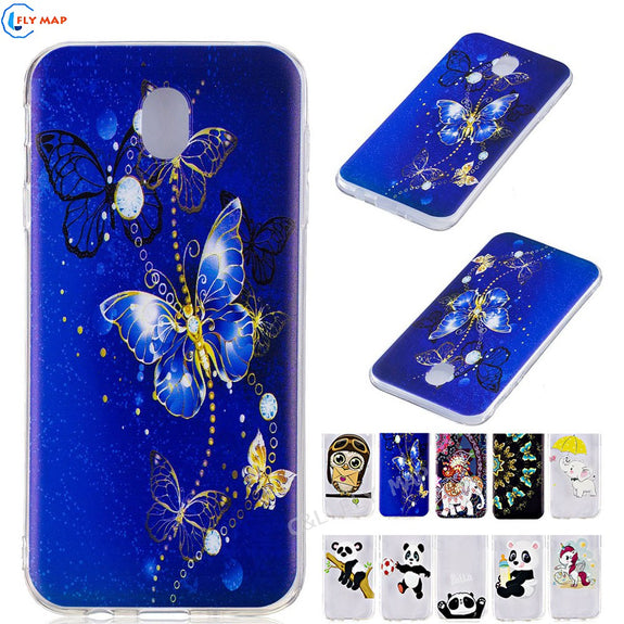 Transparent TPU Case For Samsung Galaxy J7 2017 J730 SM-J730F SM-J730G