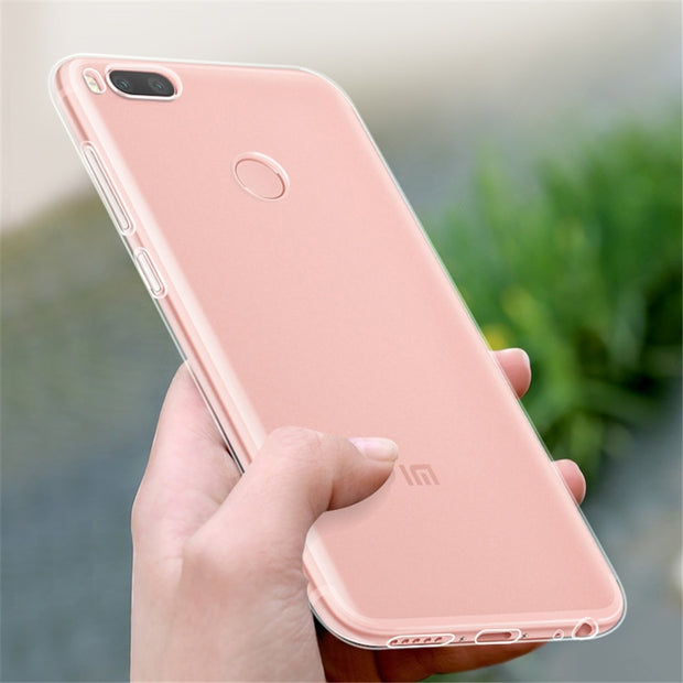 Ultra Slim Clear Case For Xiaomi Mi 8 SE Pro Mix 2 2S Max 2 3 A1 A2 Lite Soft Silicone TPU Transparent Cover For Redmi 5 5A 6 6A