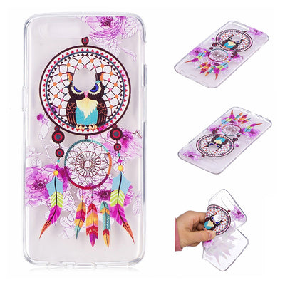 Ultra Thin Back Covers For Oneplus 5T Coque Cute Animal Unicon Owl Flower Silicon Phone Case Flower For Oneplus 5T TPU Cases