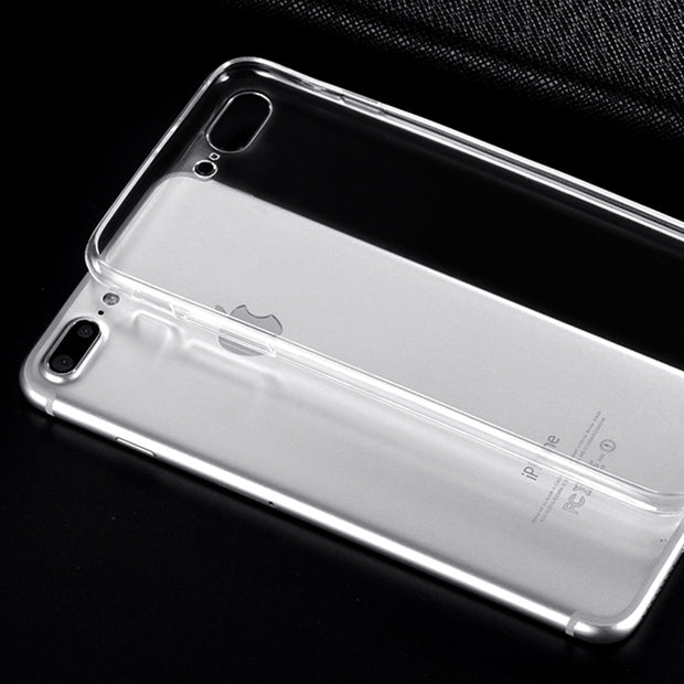 Ultra Thin Soft Transparent TPU Case For Apple IPhone X 8 8 Plus 7 5 5s Silicone Case Cover For IPhone 6 6 7 Plus Phone Bag Case