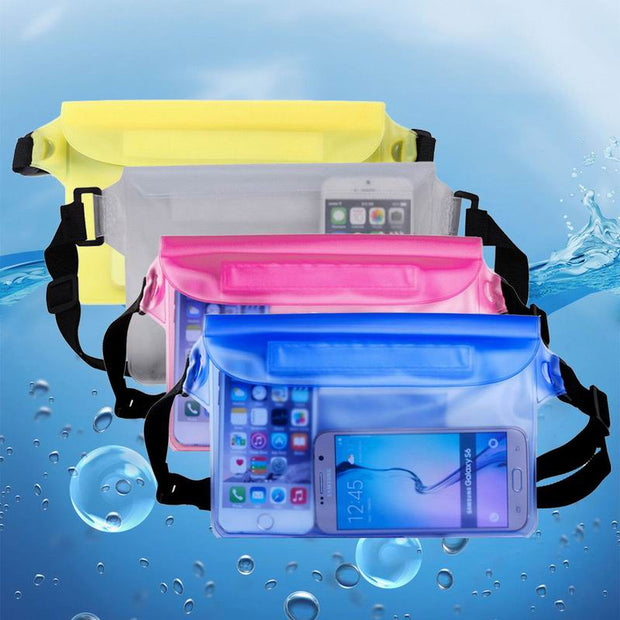 Universal Unisex Waterproof Waist Bag Dry Underwater Strap Pouch Fanny Pack For IPhone X XS MAX XR 8 7 6S For Huawei P9 P10 P20