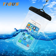Universal Waterproof Case IPX8 Phone Pouch Dry Bag With Clip For IPhone 8 7 7 Plus 6 Xiaomi Redmi 4X 5X Note 4X 5A Oneplus 5