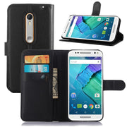 VCK For Motorola Moto X Style XT1572 XT1570 5.7 Inch Wallet Credit Card Book Style Flip Stand Leather Case Back TPU Cover