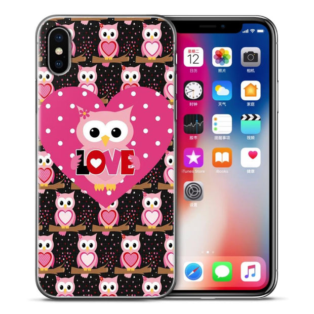 VIYISI For Apple IPhones 6 6s 7 8 Plus X 5 5s SE Case Cute Cartoon Soft Silicone For Iphone X Se 5 6 S 7 8 Plus Phone Shell