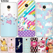 VIYISI For Meizu M3 M3s M5 M5s M5c Mini Note Pro 6 Soft TPU Cool Cute Cartoon Phone Case For Meizu U10 U20 Back Cover Shell
