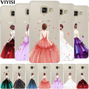 VIYISI For Samsung Galaxy S7 S6 Edge S8 Plus G530 A3 A5 A7 A8 J3 J5 J7 2015 2016 2017 Case For S9 S9 Plus A520F J510 J330 Shell