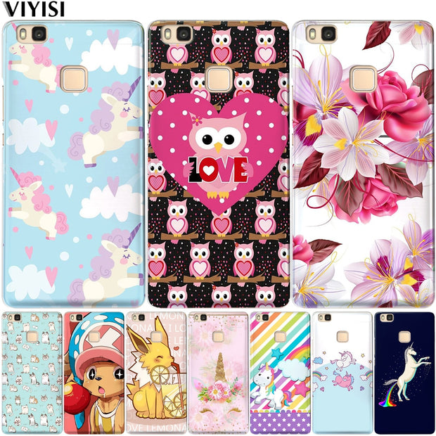VIYISI For Huawei Nova 2 P10 Plus P8 P9 Lite 2017 Y5 2017 Y6 II Pro Y7 Case For Honor 9 6A 6X Mate 9 10 Lite Pro P10 Lite Shell