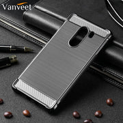 Vanveet Cases For Xiaomi Pocophone F1 Case Silicone For Xiaomi Poco F1 Case Back Cover Housing Capa Coque Hood Bag Brushed Cover