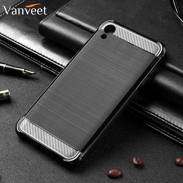 Vanveet Silicone Case For Asus ZenFone Live L1 Case Brushed Cover For Asus ZenFone Live L1 ZA550KL Case Back Cover Housing Coque