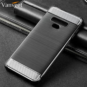 Vanveet Silicone Cases For Samsung Galaxy Note 9 Case Brushed Cover For Samsung Galaxy Note9 Case Back Covers Housing Capa Coque